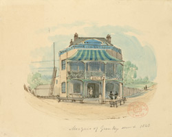 The Marquis of Granby, New Cross, 1840